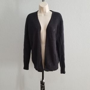 All Saints Trias dark gray charcoal cardigan XS